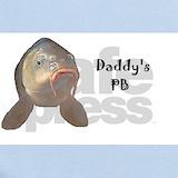 Carp fishing Baby Bodysuits