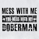 Doberman Bib