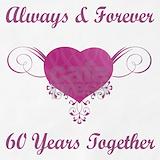 60th wedding anniversary Aprons