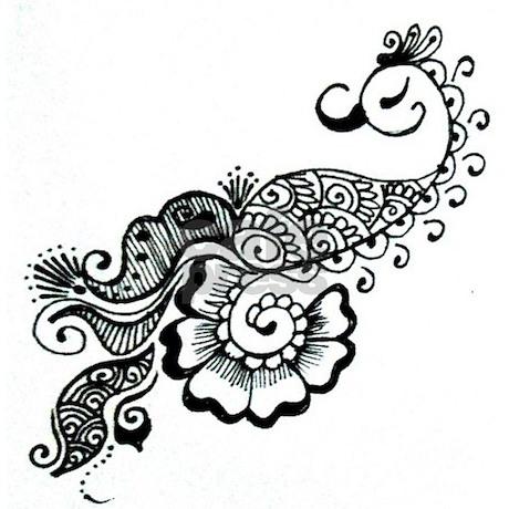 Henna Kening Makedes Com