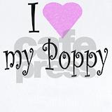 I love my poppy Baby Bodysuits