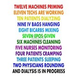Funny dialysis t-shirts T-shirts