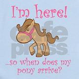 Horse Baby Bodysuits