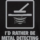 Metal detector T-shirts