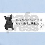 French bulldog Baby Bodysuits