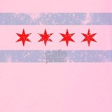 Chicago flag Tank Tops