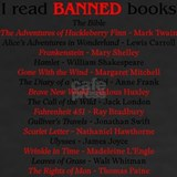 Banned books T-shirts