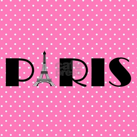 Pink And Black Paris Eiffel Tower Pillow Case Favorite