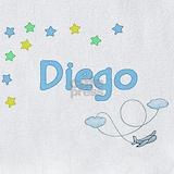 Diego name Bib