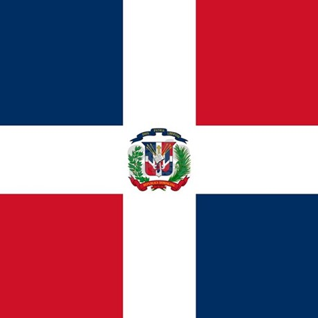 Dominican Republic Flag Queen Duvet By Worldsoccerstore
