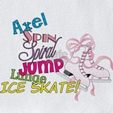 Ice skater Bib