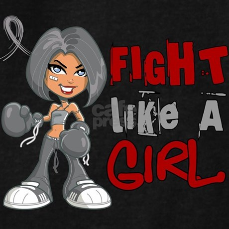 Fight like a girl hoodie