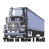 18 wheeler Wall Decals