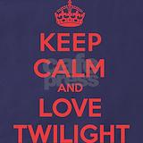 Calm love twilight Aprons