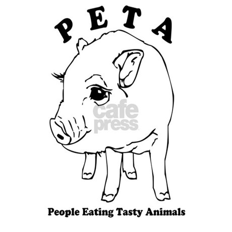 Peta-People Eating Tasty Animals Mug by FilthyFloydsNastyTees