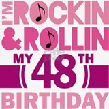 48th birthday Tank Tops