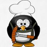 Penguin bbq Aprons