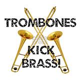 Trombone Wall Decals