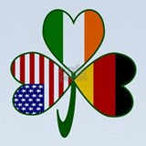 Irish flag Baby Hats