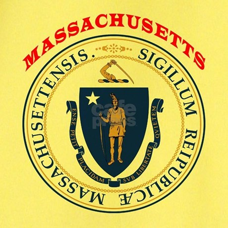Massachusetts state seal t by tshirts4everybody for Massachusetts state seal coloring page
