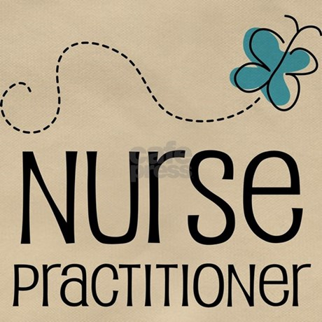 Cute Nurse Practitioner Messenger Bag By CuteOccupationTshirts