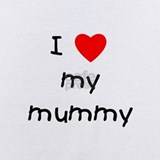 I love my mummy Baby Bodysuits