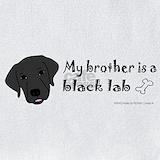 Black labrador Bib