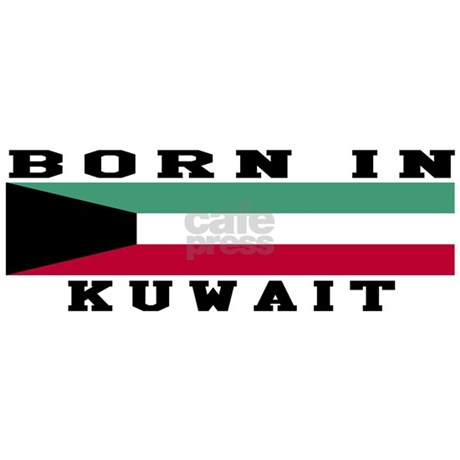 Born In Kuwait Apron By Shoping4Gifts