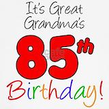 85th birthday T-shirts