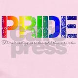 Gay pride Baby Bodysuits