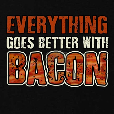 Everything Goes Better With Bacon Zip Hoodie By Atomicmadhouse