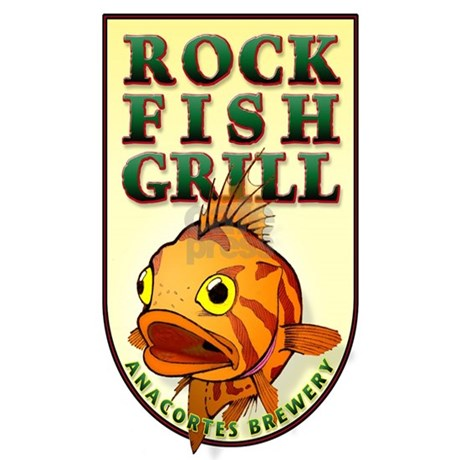 Rockfish grill for T shirts by design anacortes