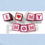 I love my mommy Baby Bodysuits
