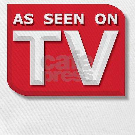 as seen on tv logo baseball cap by solopress