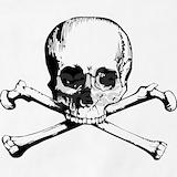 Skull and crossbones Aprons