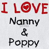 I love nanny and poppy Bib