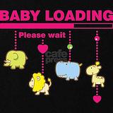 Baby loading maternity t-shirt Maternity