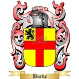 Burke coat arms Wall Decals