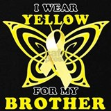 Support liver cancer awareness month yellow ribbon Sweatshirts & Hoodies