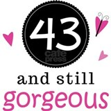 43rd birthday Pajamas & Loungewear