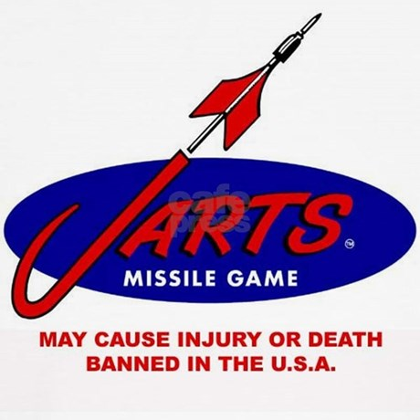 ban on lawn darts in the I have a set of vintage lawn darts i was wondering if some one knows if i can sell them on ebay  i should've said that it's the old ones with the metal spikes that were banned, not the newer plastic ones 2,141 views  and nobody got sued heck, my family has played with the original lawn jarts for many years without injury simply.