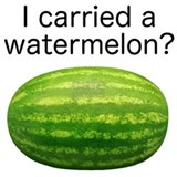Carry a watermelon Maternity