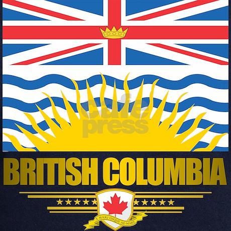 British columbia flag hoodie by flagamericas for British columbia flag coloring page