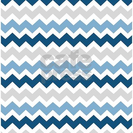 Navy Blue Grey White Chevron Shower Curtain  Navy Blue Grey White Chevron Shower  CurtainNavy Blue Grey White Chevron Shower Curtain by DreamingMindCards. Navy Blue And White Shower Curtain. Home Design Ideas
