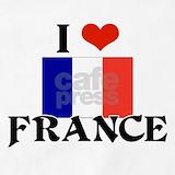 I heart france Aprons