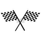 Checkered flag Wall Decals