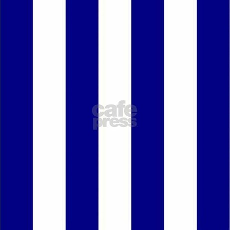 Navy Blue And White Striped Shower Curtain By Stripstrapstripes