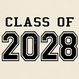 Class of 2028 T-shirts