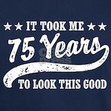 75th birthday T-shirts