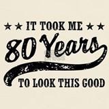 80th birthday T-shirts